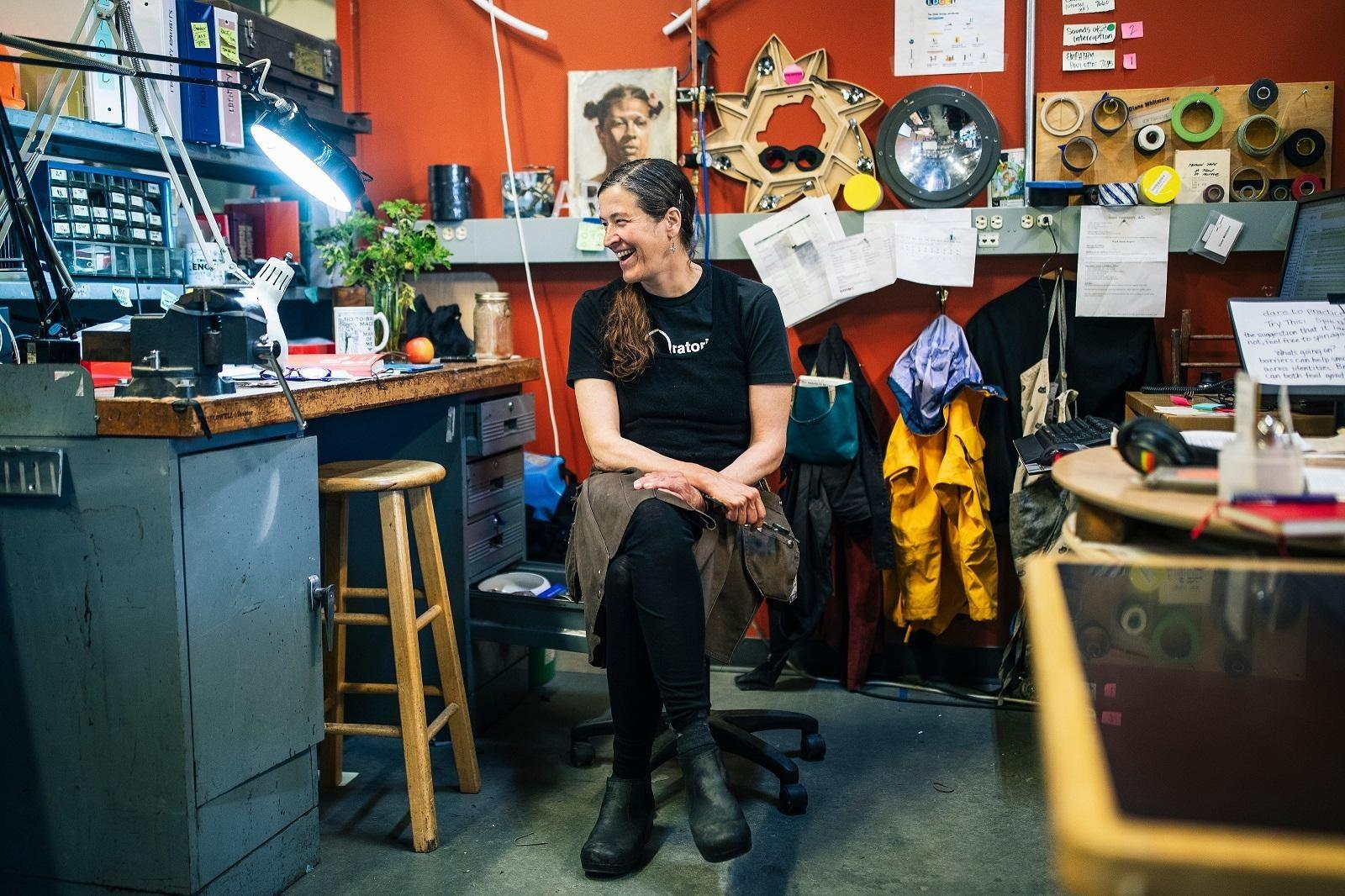Diane Whitmore, San Francisco Exploratorium