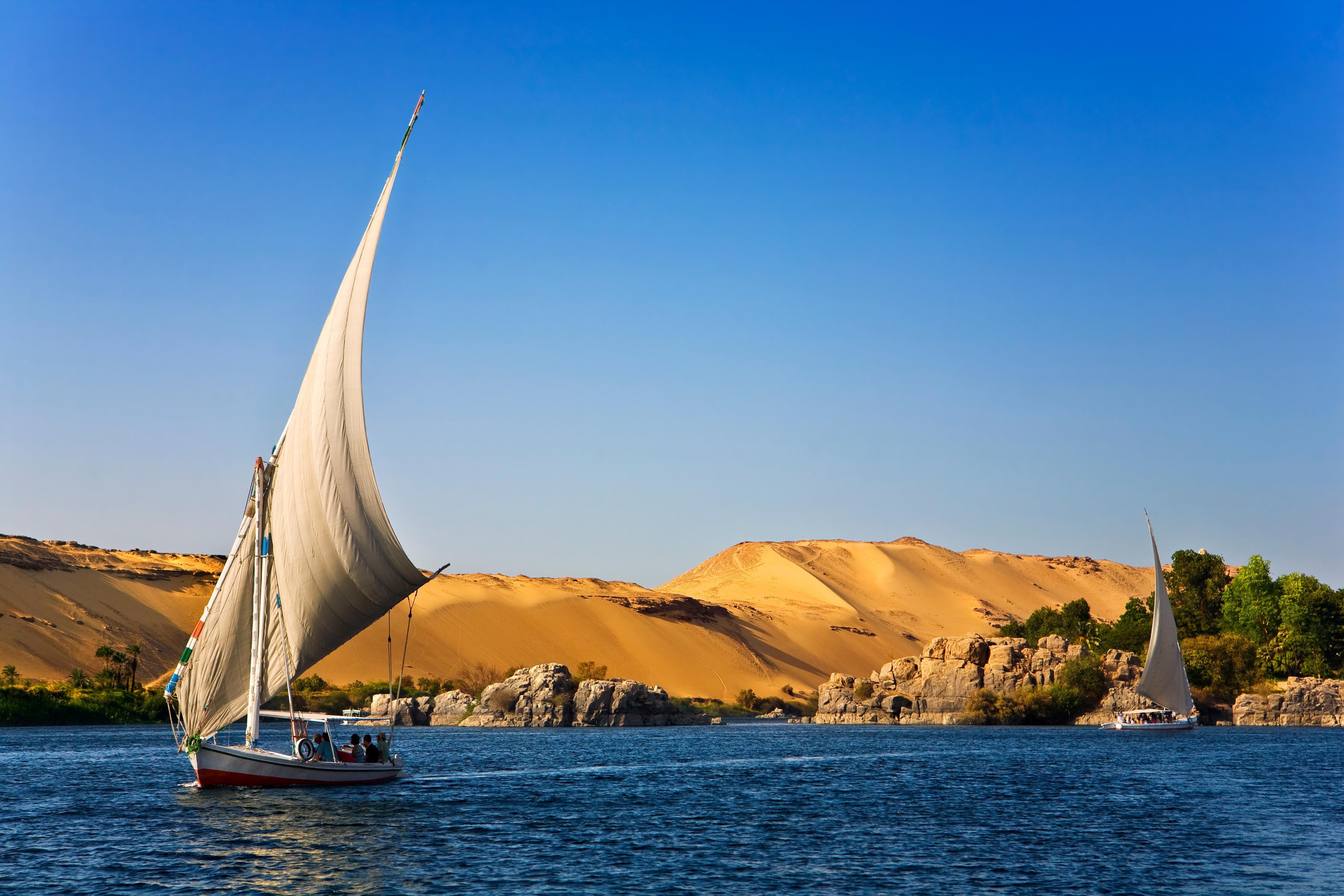 Nile River Felucca Cruises in Aswan