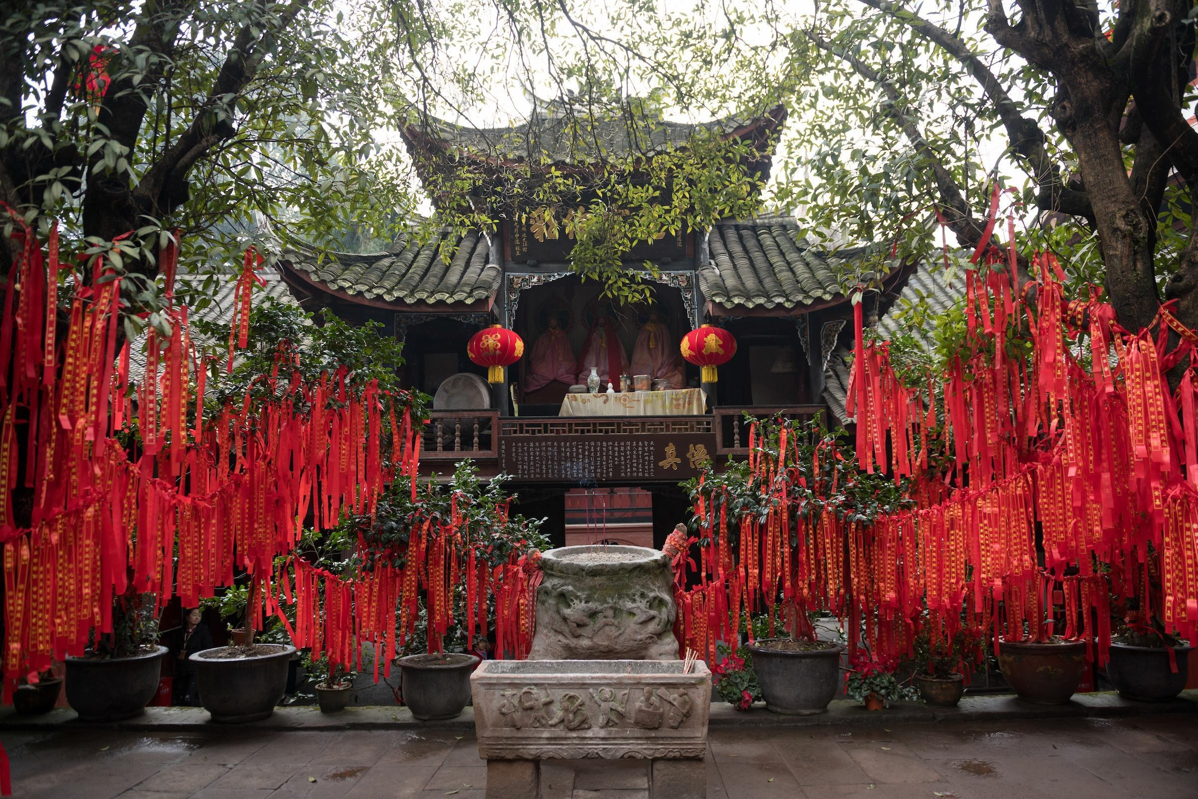 Top Temples in Chengdu