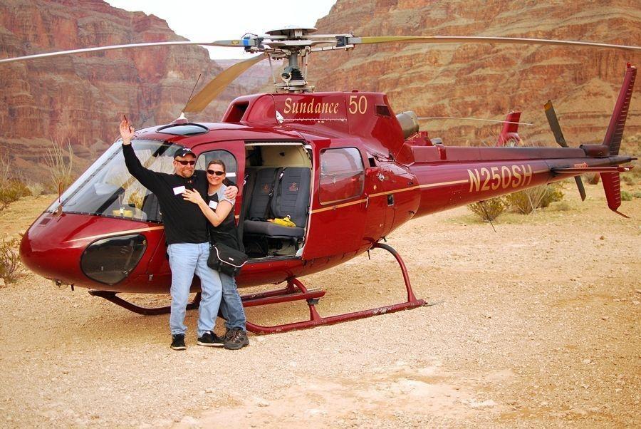 Lo mejor del Gran Cañón el helicóptero