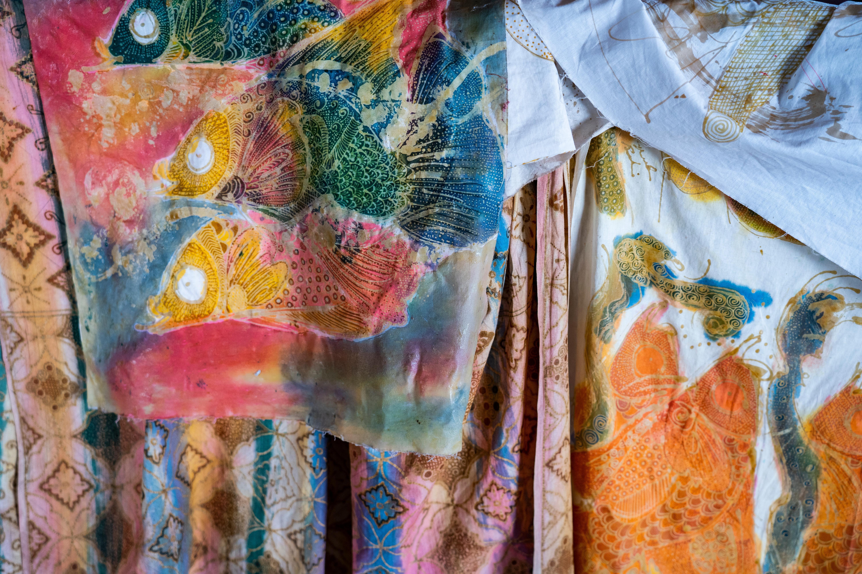 Indonesian Batik Art in Bali