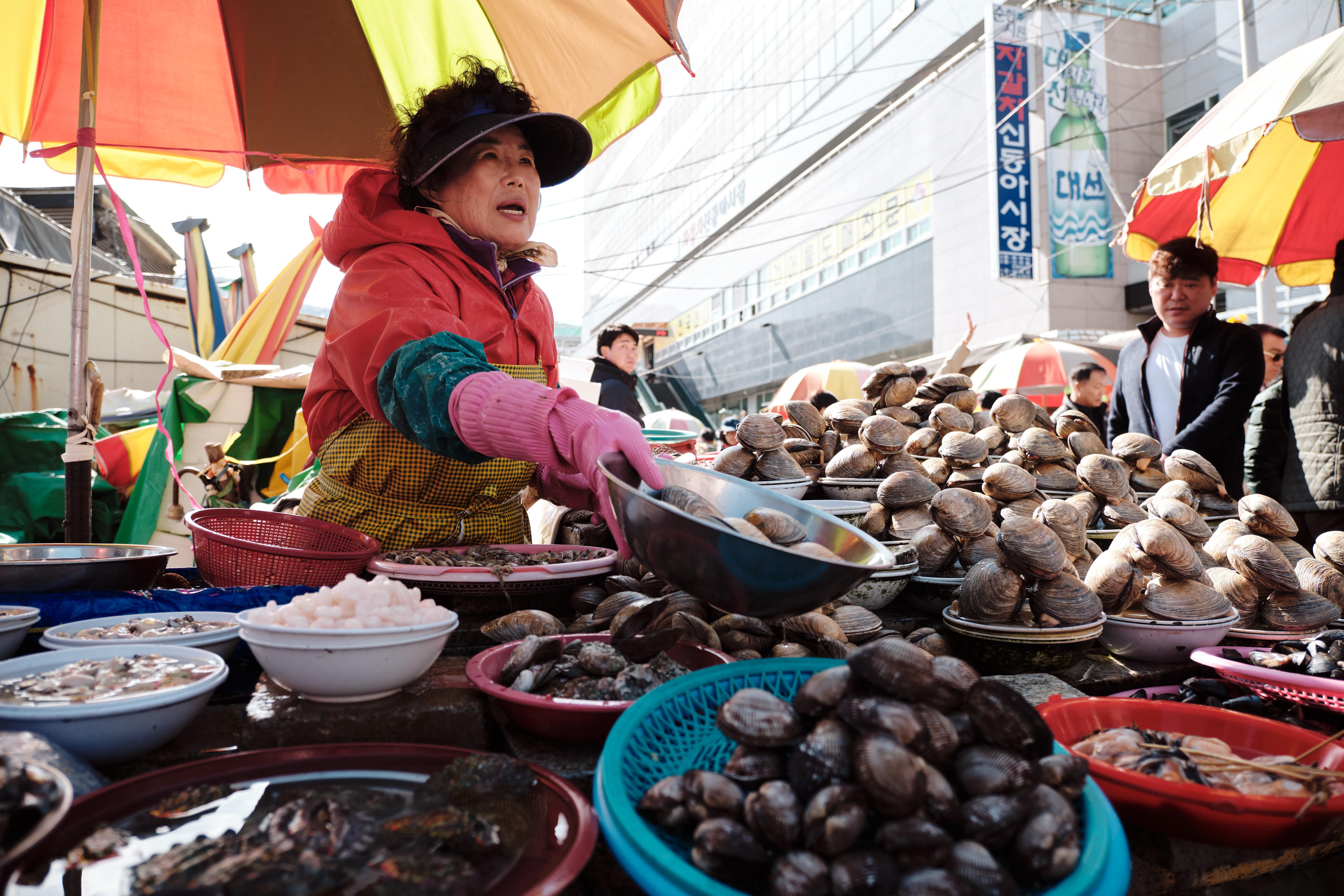 Top Markets in Busan