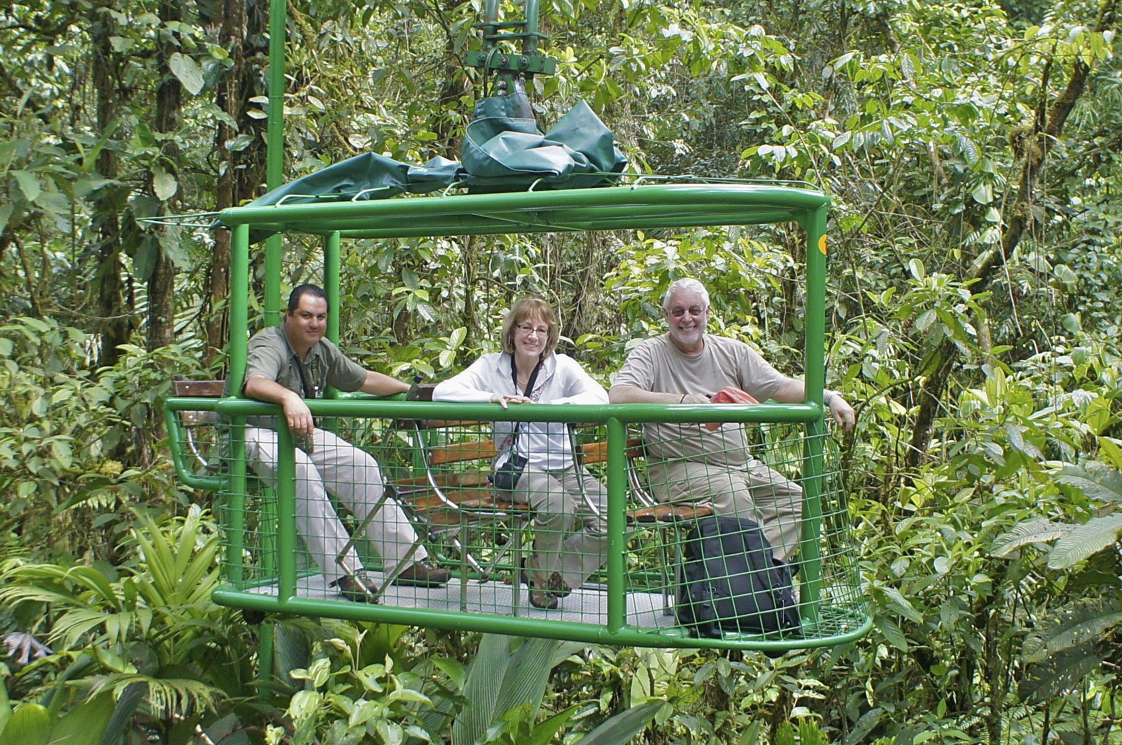 Rain Forest Canopy Tours from San Jose