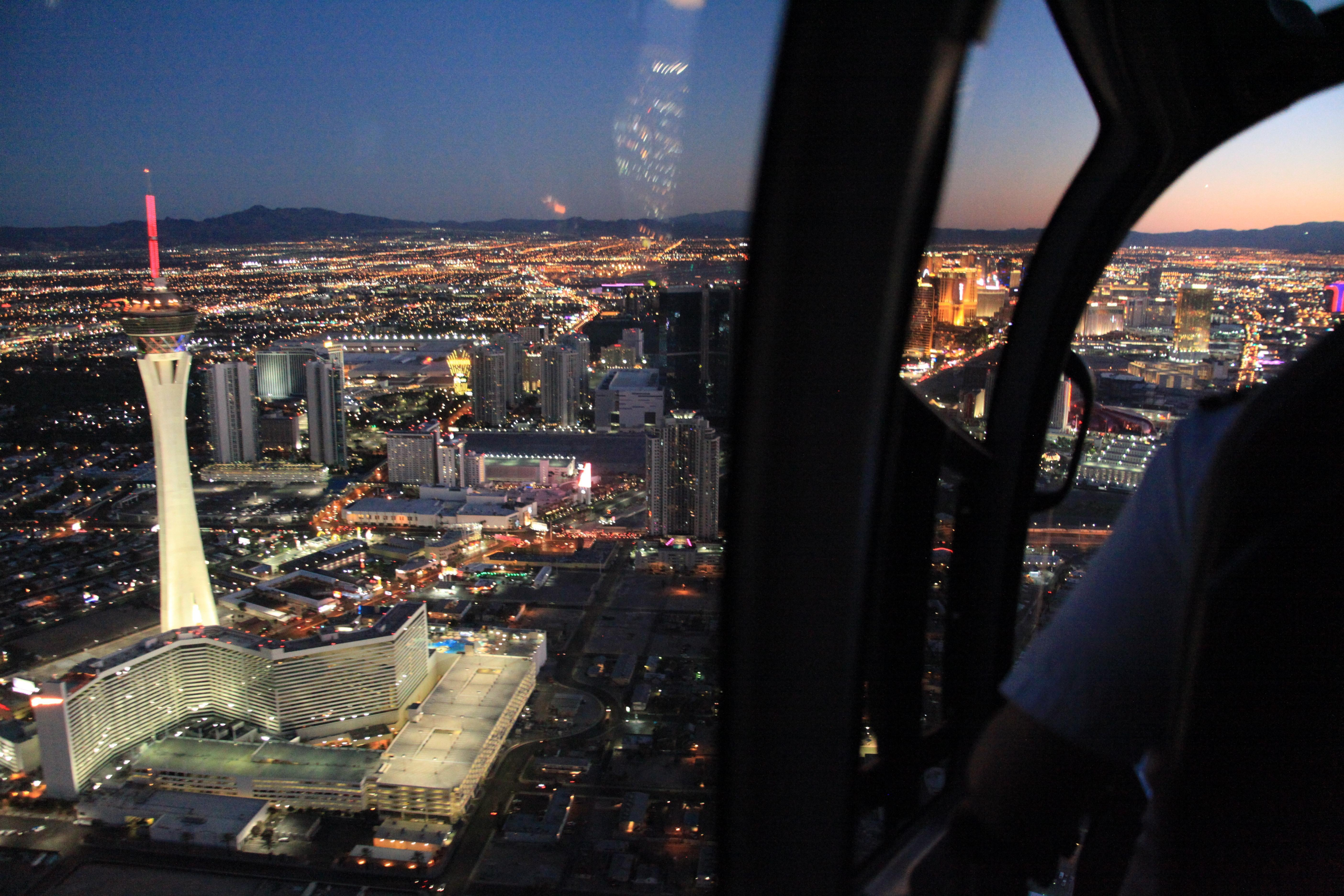 Las Vegas Night Helicopter Tours