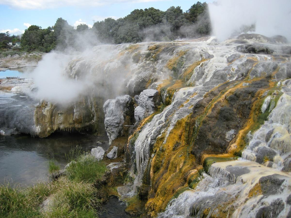Top Hot Springs in Rotorua