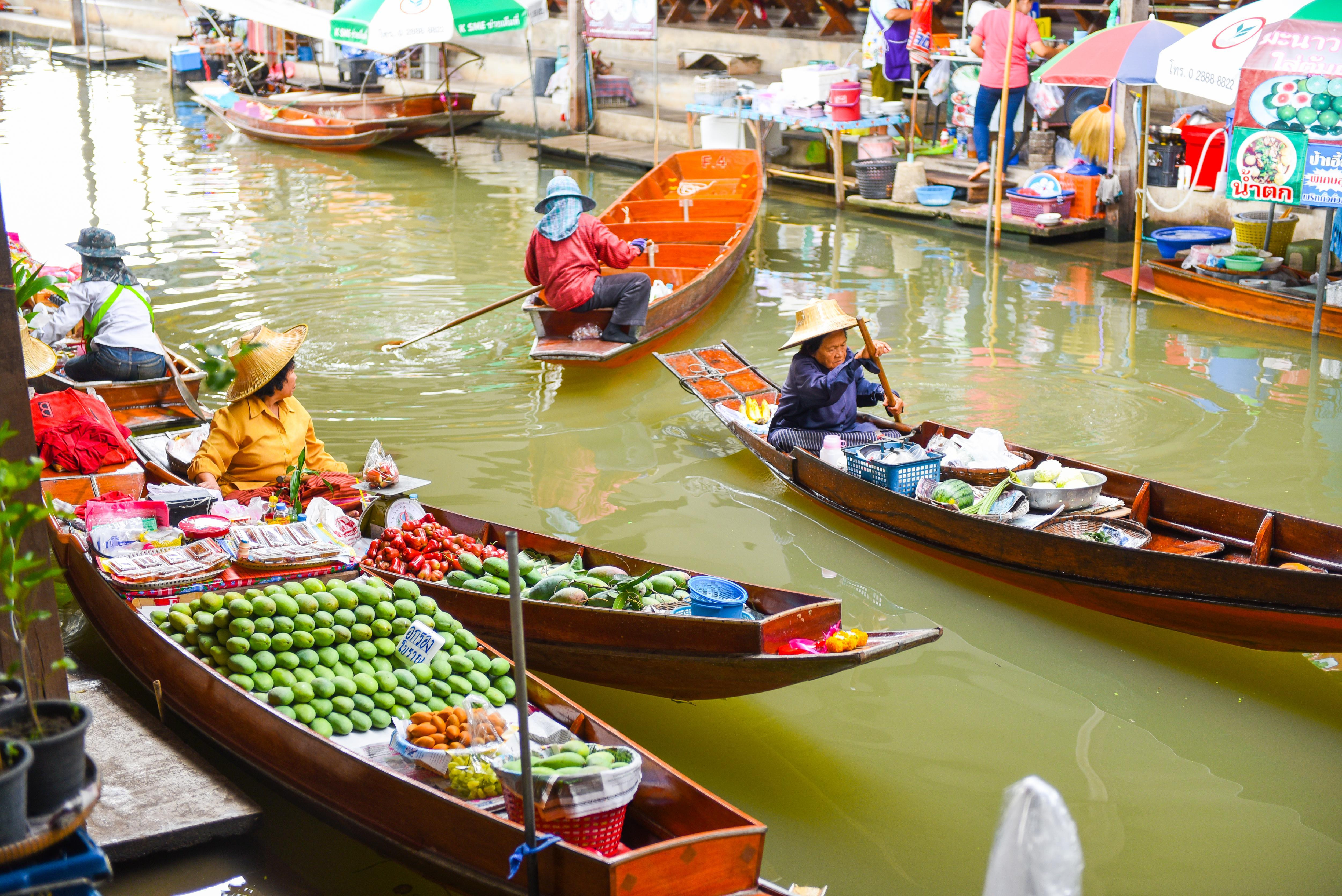 Visiting Bangkok's Floating Markets
