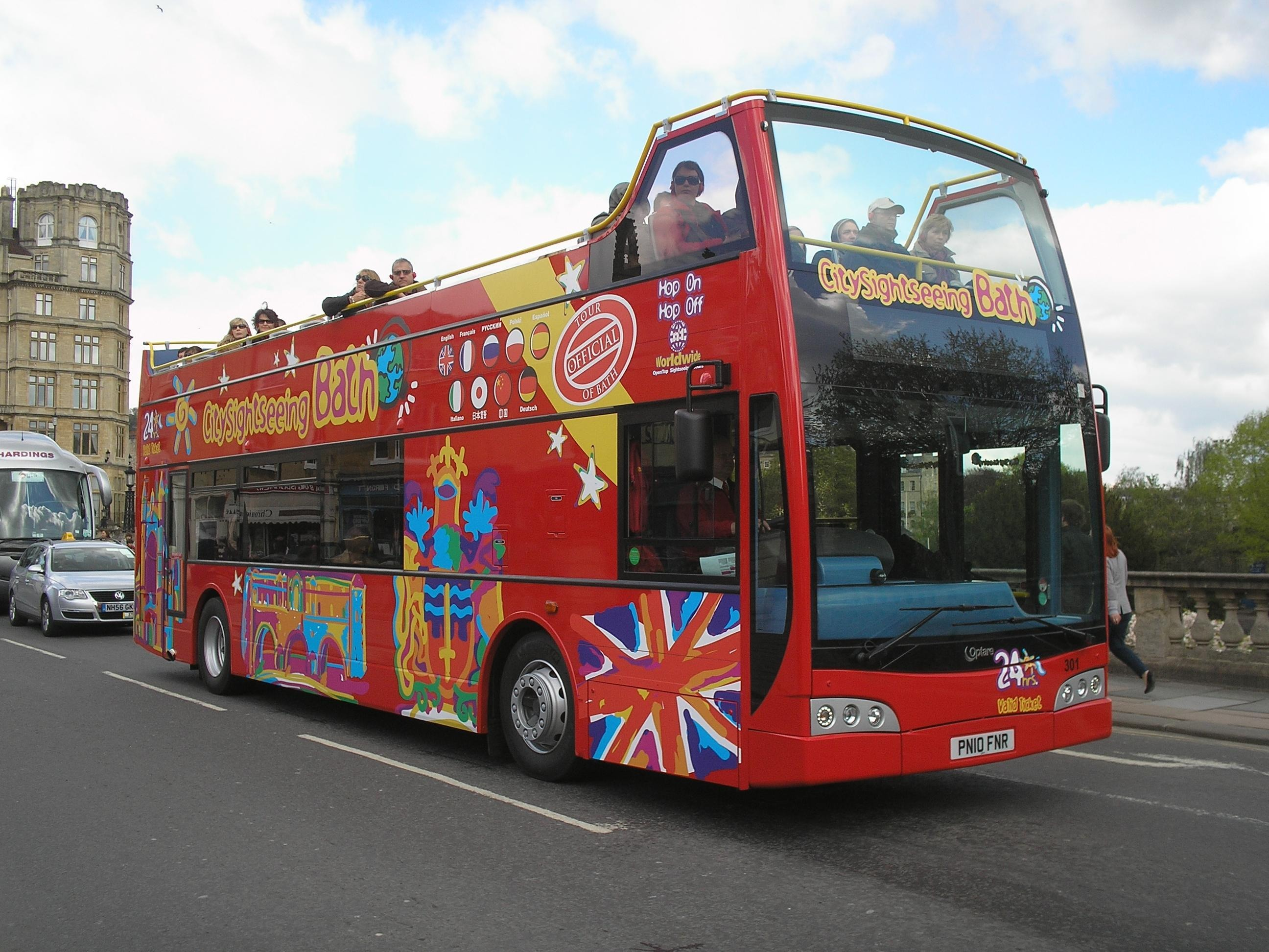 City Sightseeing Tours in the United Kingdom