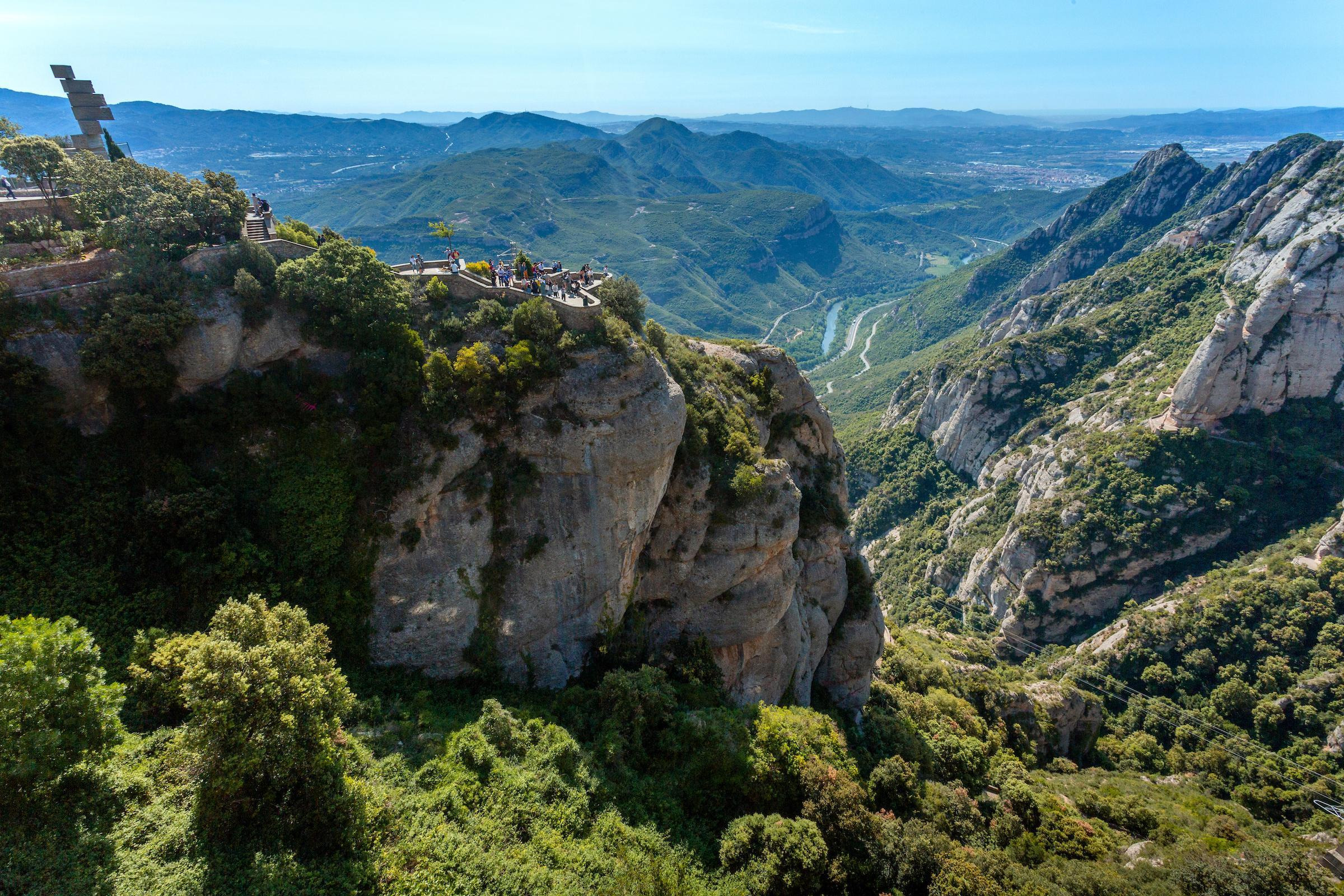 Easy Walking and Hiking Trails at Montserrat