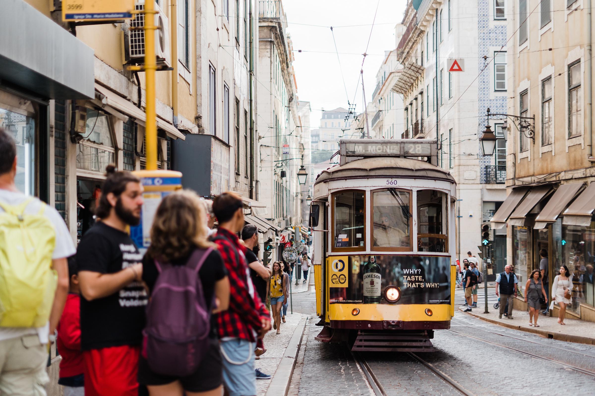 Riding the Lisbon Tramway