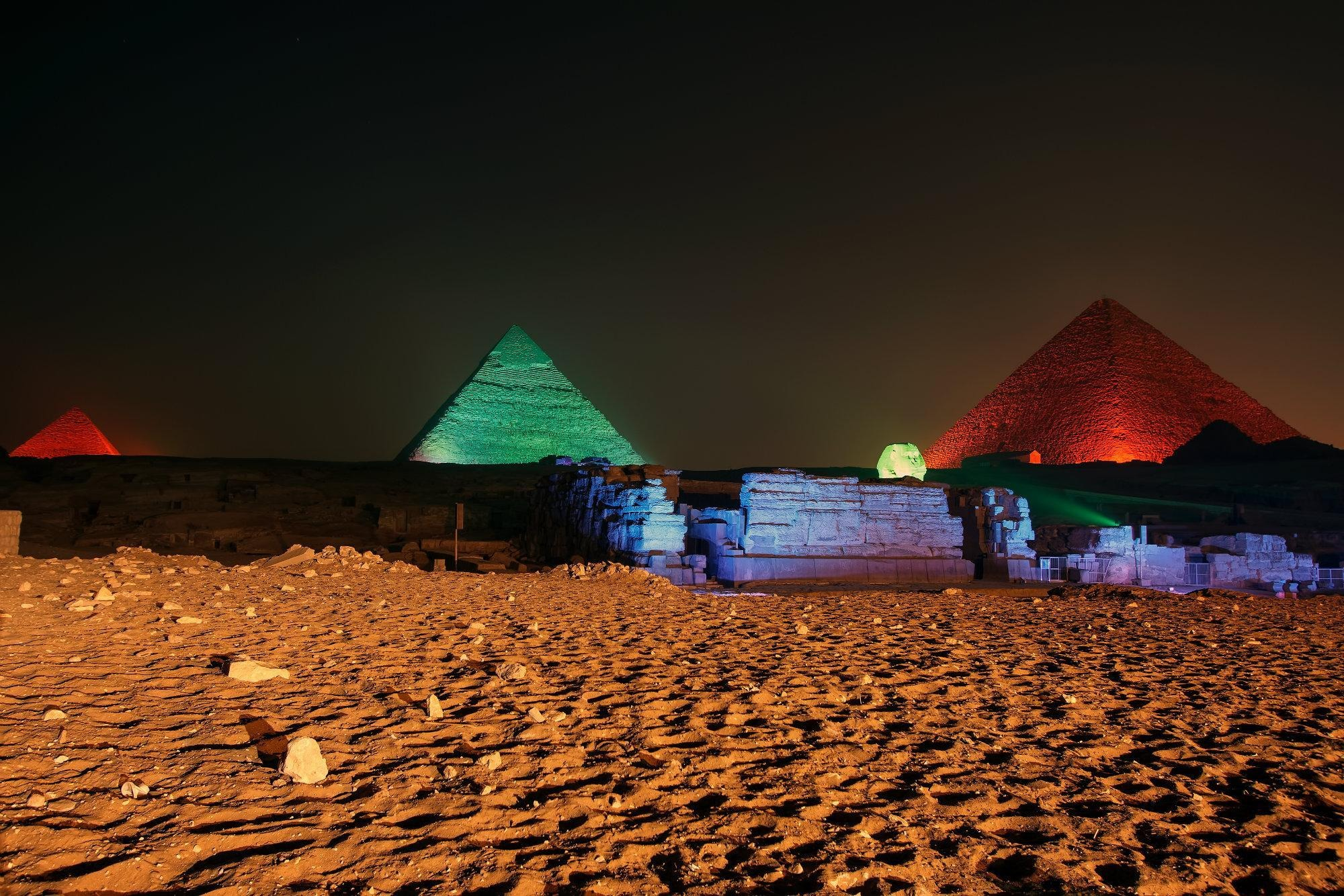 Sound and Light Shows at the Giza Pyramids