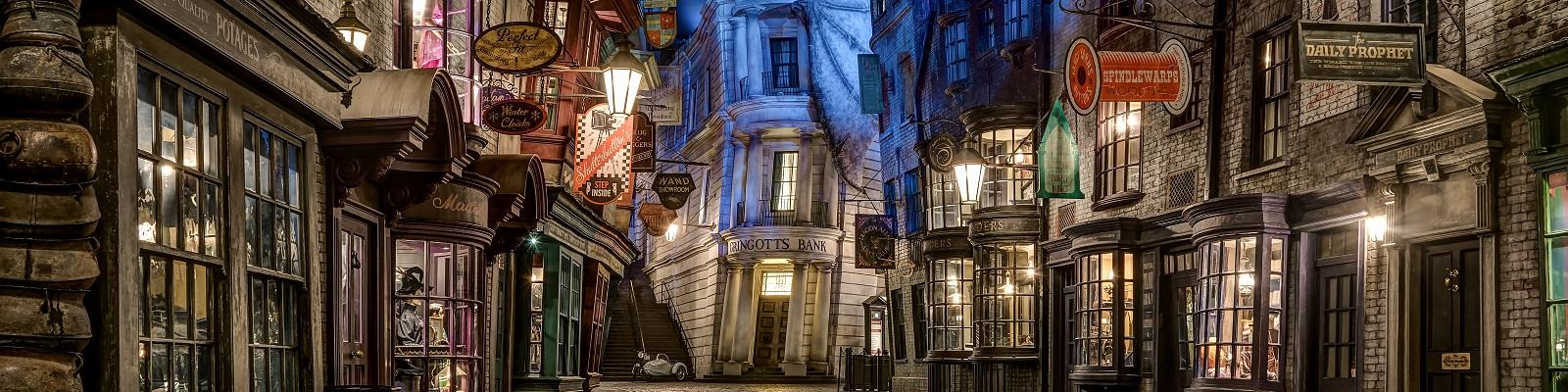 Diagon Alley at The Wizarding World of Harry Potter, Universal's Islands Of Adventure