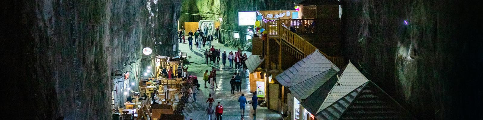 The Salina Turda mines of Romania
