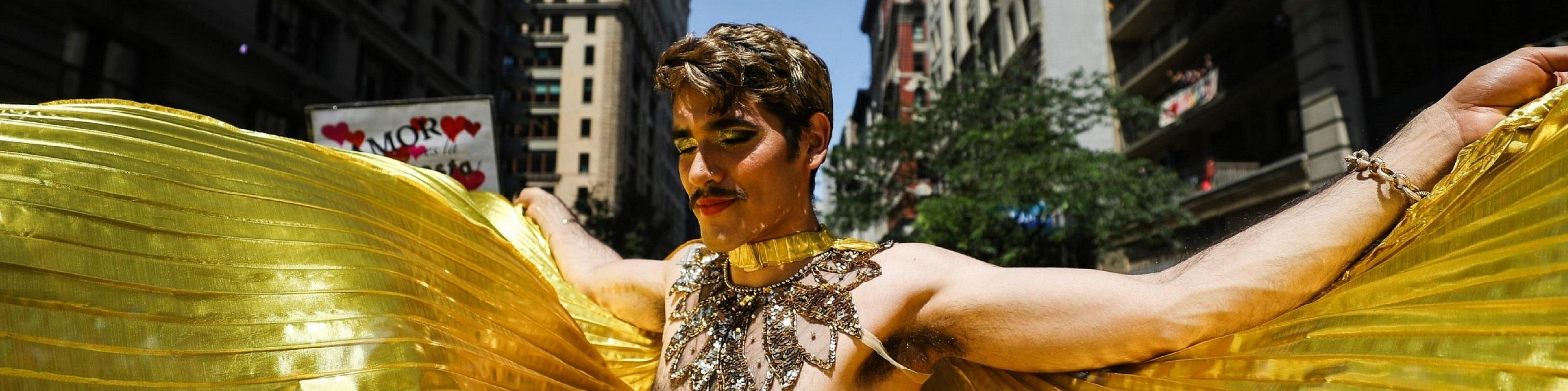 Pride parade in New York City, United States. Photo: Kevincartr / Shutterstock