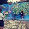 Visitas guiadas para observar arte callejero