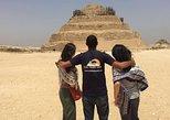 CAIRO LAYOVER TOURS TO GIZA PYRAMIDS MEMPHIS SAKKARA DAHSHUR PYRAMIDS AND BAZAAR