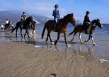 Beach horse riding on the Wild Atlantic Way Connemara. Guided. Full day