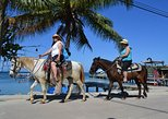 Roatan Combo Tour: Jungle Horseback Riding and Beach Break