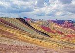 Excursão a pé de dia inteiro em Cusco a Rainbow Mountain Palcoyo Trek. Cusco, PERU
