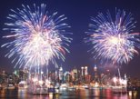 NYC July 4th Macy's Fireworks Family Friendly Festive Boat with Bar light food