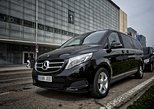 Arrival Private Transfer Luxury Van Barcelona Port to Barcelona City