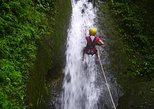 canyoning with horseback riding in waterfalls near La Fortuna