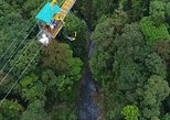 The nearest Bungee jump to San Jose - with canopy ziplines and long Superman cable
