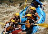 Rafting level III with canyoning (rappel in waterfalls) and tarzan swing near La Fortuna