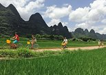 1 day Guilin Li River Cruise and Yangshuo Countryside Cycling Private Tour