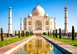 Agra Taj Mahal and Agra Fort Private Day Trip by Rail from Delhi
