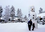 Rovaniemi Snowmobile Tour: Visit a Reindeer Farm and Meet Santa