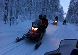 Easy Snowmobile Safari for Beginners in Ruka