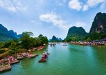 Day trip from Guilin of Li River Cruise with Countryside Cycling Plus Bamboo Rafting