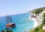 Alanya Boat Tour with Sunbathing Swimming and Snorkelling