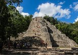 4x1: Coba, Cenote, Tulum and Playa del Carmen Tour from Cancun
