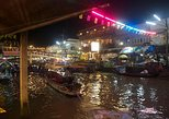 Full-Day Amphawa Floating Market and Firefly Tour from Hua Hin