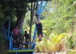 Full-Day Zipline Adventure and Beach Club Visit on Roatan Island, Honduras