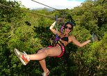 Combo Day Trip: Zipline, Hotsprings and Horseback Riding