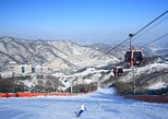 Winter Fun at Vivaldi Ski Resort with Romantic Winter scenery at Namiseom Island