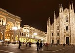 Illuminated Milan Tour for Kids and Families with Gelato & Pizza