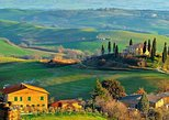 set out along hillside roads through tuscany