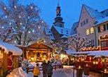 Visita a un mercado navideño y cena de Navidad desde Fráncfort. Frankfurt, ALEMANIA