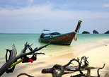 Railay and 4-Island Sunset Cruise with Night Snorkel