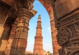 Historic Delhi Morning Tour Including Chattarpur Temple and Qutub Minar with Tuk-Tuk Ride