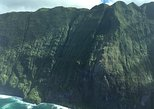 Splendorous Sea Cliffs of Molokai Air Tour- Kahului Departure