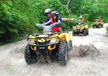 Adrenaline day in Cancun with Atvs Zipline and a Mayan Cenote