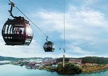 Singapore Sentosa Island Tour with Cable Car Ride and Wings of Time Night Show