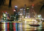 Singapore Night Out: Music & Light show, Marina Bay Sands SkyPark, River Taxi
