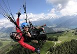 Tandem Paragliding Experience with Transport from Interlaken