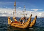 South America - Bolivia: Lake Titicaca, Private visit to HUATAJATA, builders of reed boats