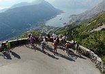 Epic '25 Turns' Bike Descent with best views of Kotor Bay